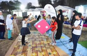 وزارة تنمية المجتمع تشارك في فعاليات توعية الطفولة بمنتزه الشرطة الصحراوي بالشارقة
