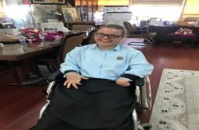 تغلبت على الإعاقة وتفوقت في دراستها حتى وصلت للمرحلة الثانوية