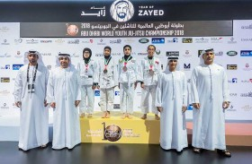 الإمارات تظفر بصدارة البطولة محققة 52 ميدالية ذهبية