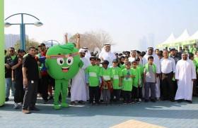 12 ألف يشاركون في فعاليات أبوظبي التقني للمشي في عشرة مواقع ترفيهية بالدولة