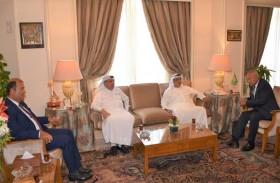 الأمين العام للجامعة العربية يتلقى دعوة لمؤتمر ومعرض الأمن الغذائي برأس الخيمة