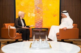 محمد بن راشد يتلقى رسالة خطية من رئيس وزراء لاتفيا لتأكيد مشاركتها في إكسبو 2020 دبي