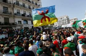 سجن 22 متظاهراً جزائرياً بسبب راية الأمازيغ
