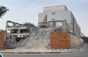 بلدية مدينة أبوظبي تدعو المقاولين والاستشاريين التزام معايير البيئة والصحة والسلامة خلال هدم المباني