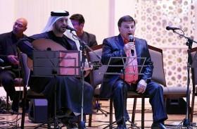 فيصل الساري وعبود بشير يؤديان للمرة الأولى أغنيات مستوحاة من قصائد زايد بن سلطان آل نهيان