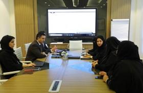 دائرة المالية المركزية بالشارقة تستقبل وفداً من بلدية دبا الحصن