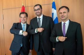 الإمارات واليونان تبحثان آليات تحقيق الشراكة الاستراتيجية الشاملة بينهما