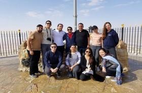طلاب جامعة نيويورك أبوظبي يستكشفون مفاهيم متعددة للثقافات داخل وخارج دولة الإمارات