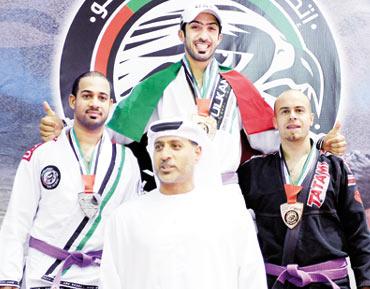 أبطال الإمارات يضربون موعداً مع الأمجاد في اليوم الختامي لبطولة الخليج المفتوحة للجوجيتسو