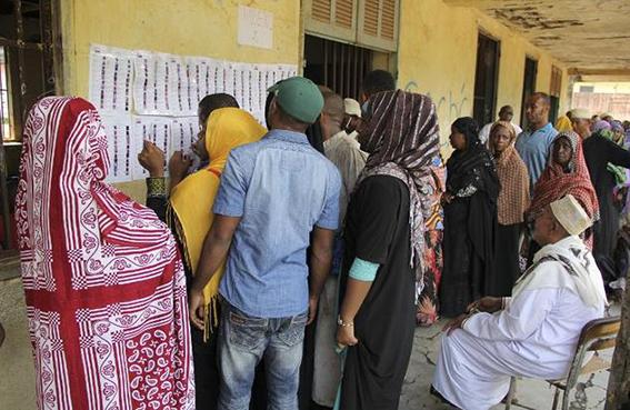 بدء التصويت في الدورة الثانية من الانتخابات التشريعية بجزر القمر