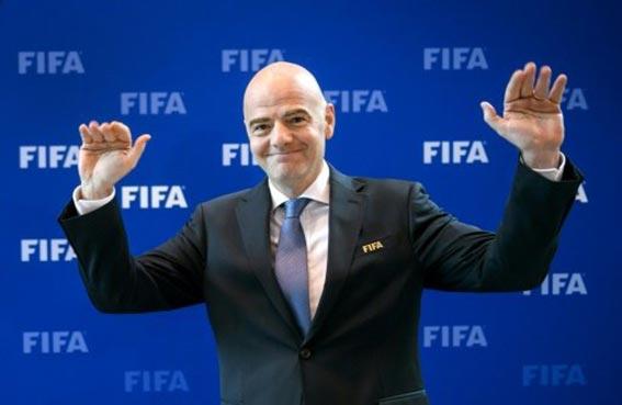 إنفانتينو يدعو لتفعيل مشاركة المرأة في كرة القدم