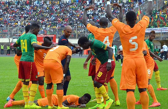 ساحل العاج والكاميرون يواجهان غينيا ومالي