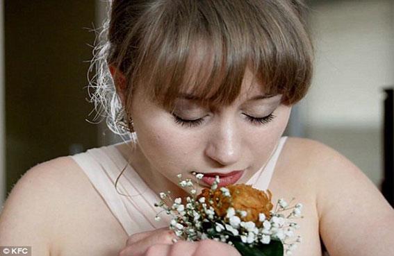 إسورة كنتاكي بدلاً من خاتم الزفاف
