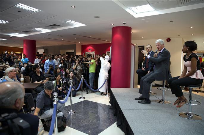 بيل كلينتون يشيد بإمكانات الإمارات ويؤكد جدارة دبي باستضافة إكسبو الدولي 2020