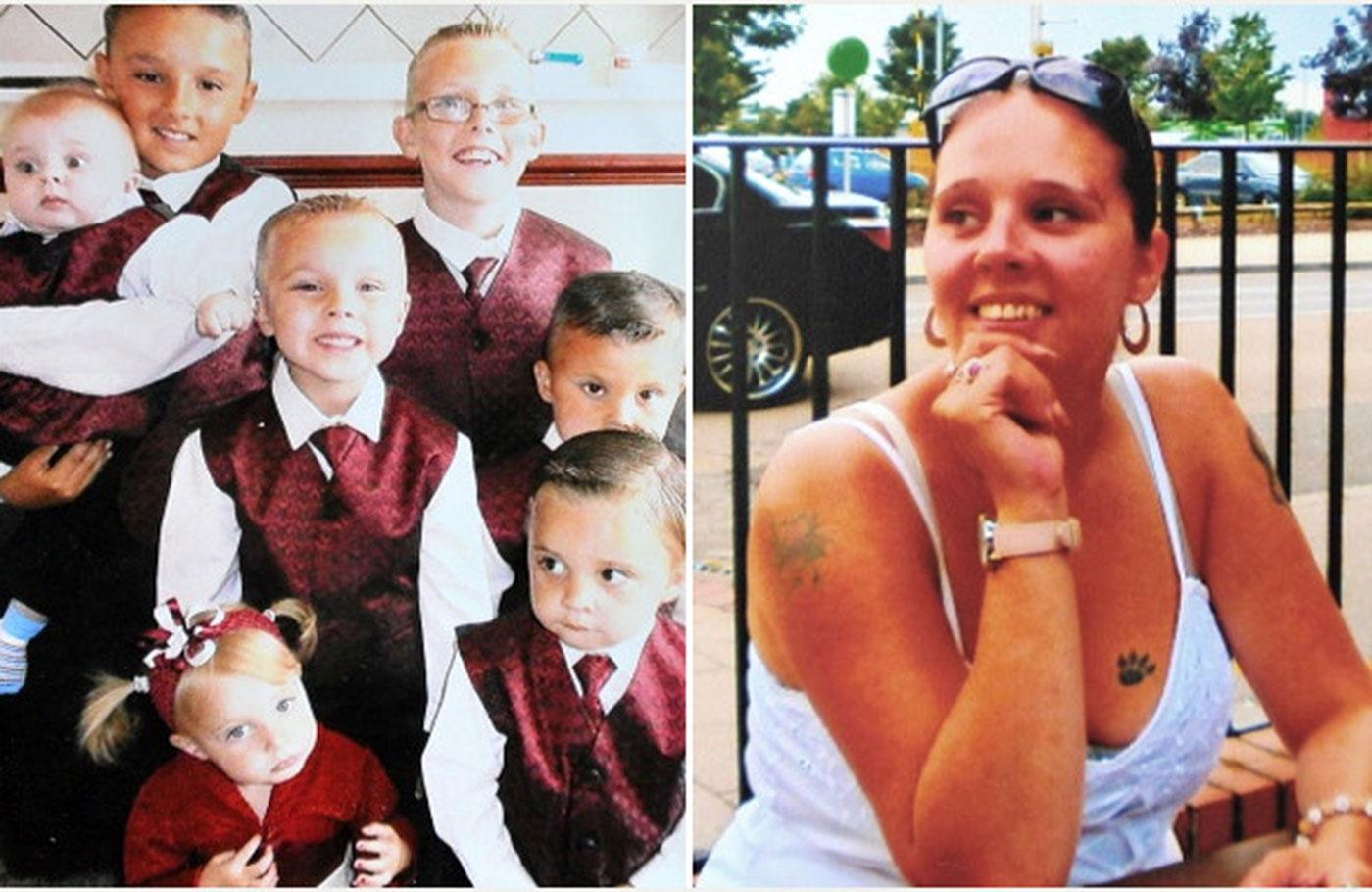 تضحي بحياتها من أجل أطفالها