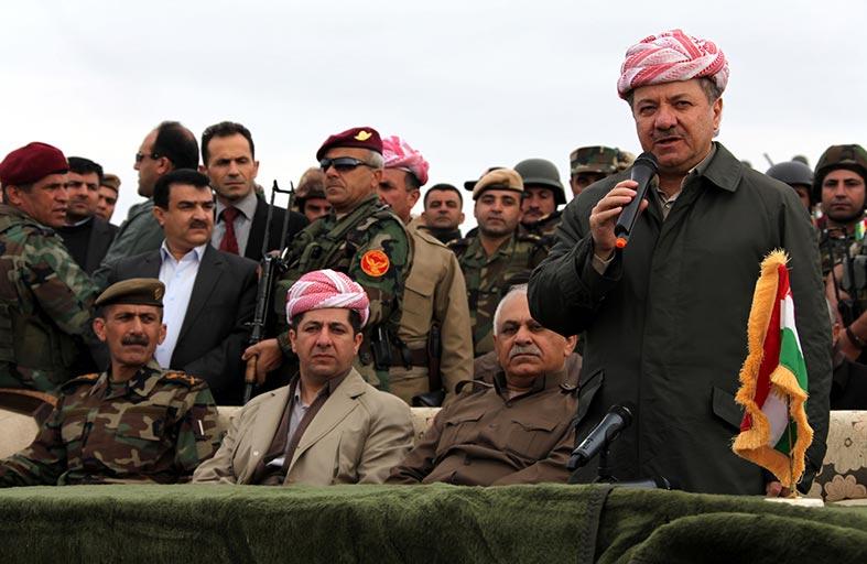 بارزاني والنجيفي يناقشان خطة تحرير الموصل