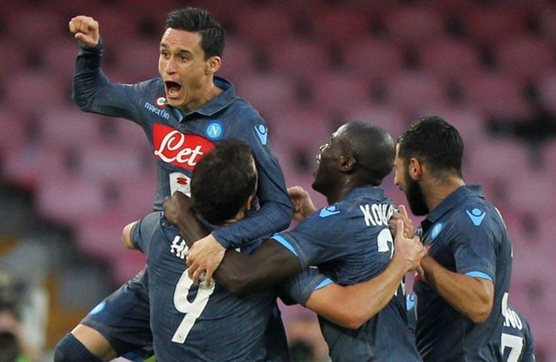 نابولي يقترب من روما وقفزة كبيرة للانتر بالدوري الايطالي