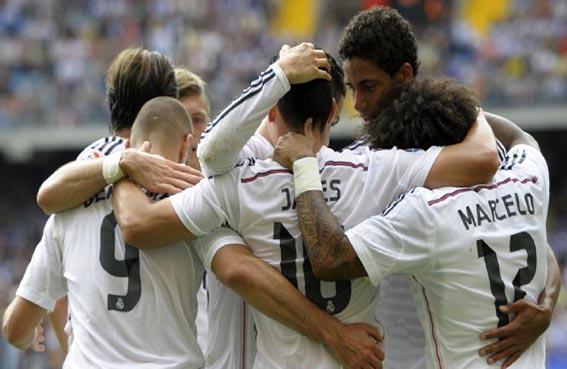 ريال مدريد يعود إلى سكة الانتصارات في الليغا