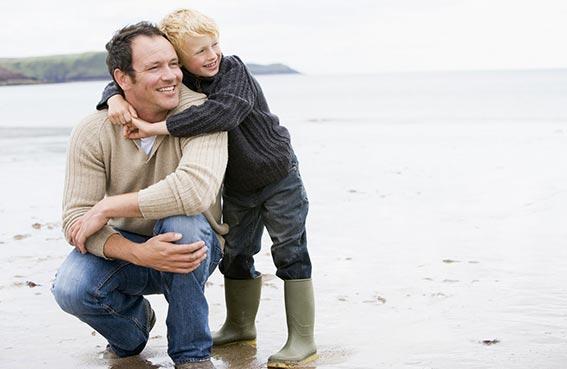تعاطف الآباء مع أبنائهم يمنحهم حالة نفسية أفضل