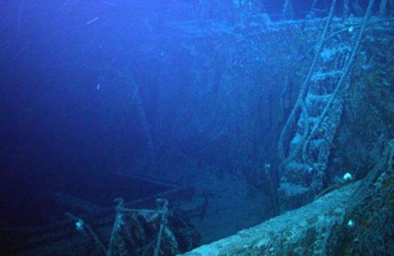 تحديد موقع سفينة غرقت عام 1765