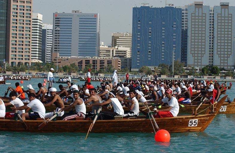 نادي تراث الامارات يطلق سباق اليوم الوطني لقوارب التجديف 2 ديسمبر