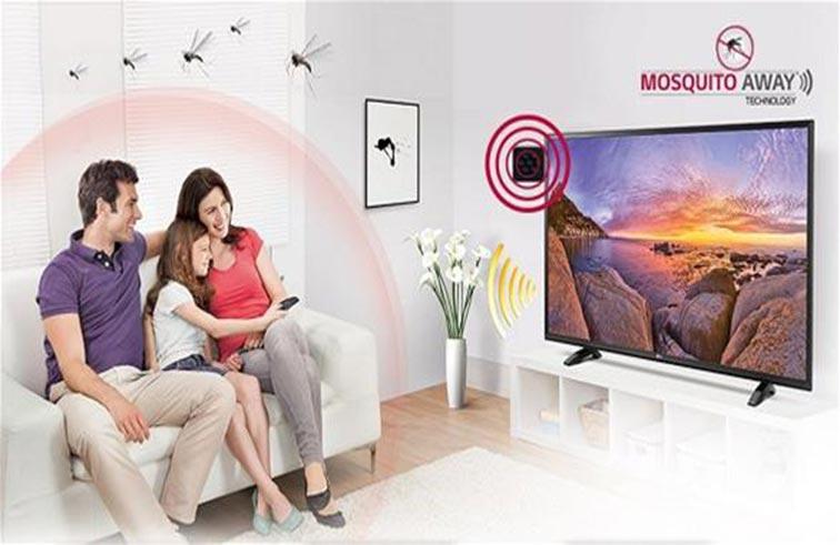 شاشة تلفزيون لطرد البعوض
