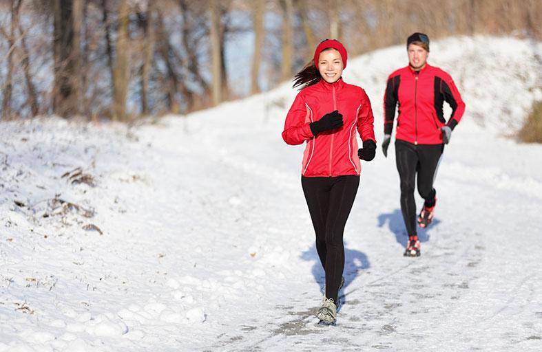 كيف تستفيدين من الجري في الطقس البارد؟