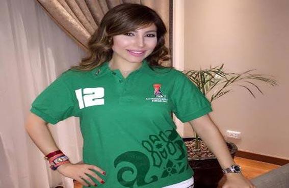 يارا تدعم الأردن في كأس العالم